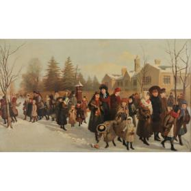 THE RETURN FROM SCHOOL