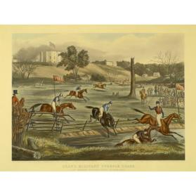 GRAND MILITARY STEEPLECHASE AT LONDON, C.W., 9TH MAY, 1843