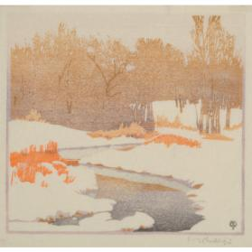 THE STREAM IN WINTER