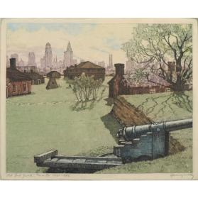 OLD FORT YORK, TORONTO, 1793 - 1943