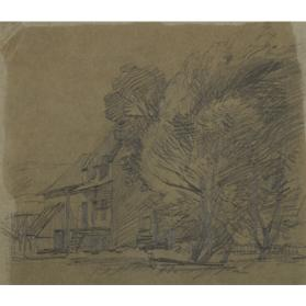 HOUSE AND TREES