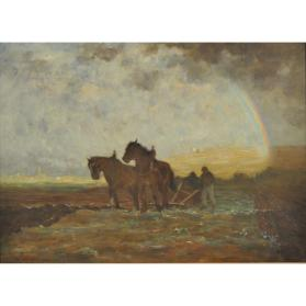 PLOUGHING, ILE D'ORLEANS