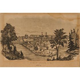 VIEW OF LONDON, C. W.