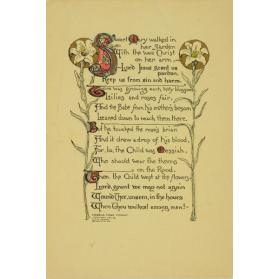 SWEET MARY [ILLUSTRATED VERSE]