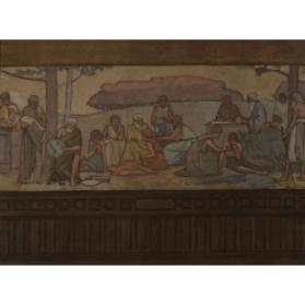 "STUDY FOR THE MURAL ""SCIENCE"""