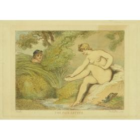 THE FAIR BATHER (AFTER BOUCHER)