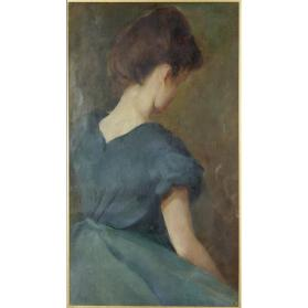 UNTITLED (BACK VIEW OF A YOUNG LADY)
