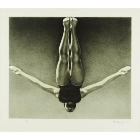 OLYMPIC SERIGRAPHS: THE DIVER