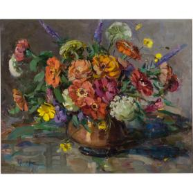 untitled (bowl of flowers)