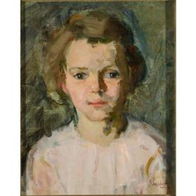 untitled (portrait of a young girl)