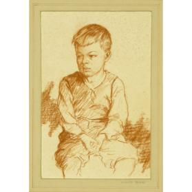 PORTRAIT OF A SEATED BOY