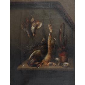 STILL LIFE WITH WILD GAME