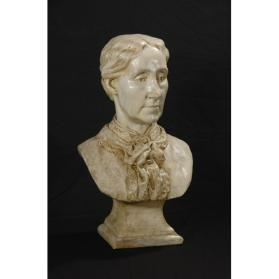 PORTRAIT BUST OF AMELIA SINGLETON HALL PEEL