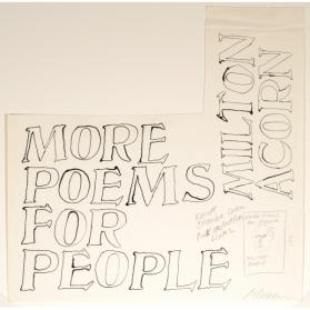 MORE POEMS FOR PEOPLE (COVER DESIGN)