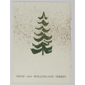 Christmas card [From 1010 Wellington Street]