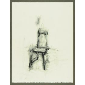 CHAIR - STUDY FOR CHESS SET PAWN #28