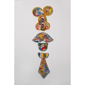 FOUR PIECE SET (PORTRAIT COLLAGE)