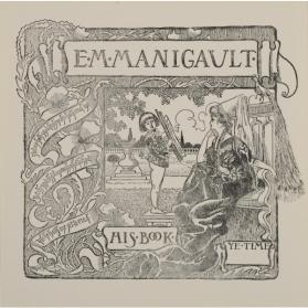 E. M. MANIGAULT BOOKPLATE