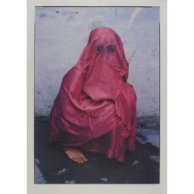 KALCUTT PRINT #88467: FEMALE IN BURKA