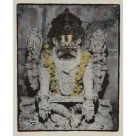 HANUMAN WITH GARLAND: PRINT NO. 508