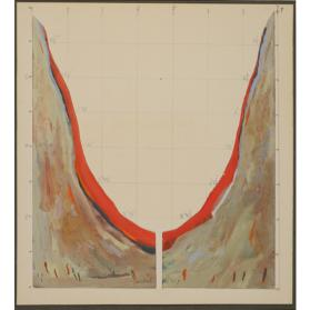 STUDY FOR LARGE DIPTYCH