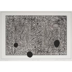 BLACK HOLES, from the Organic Works on Paper series