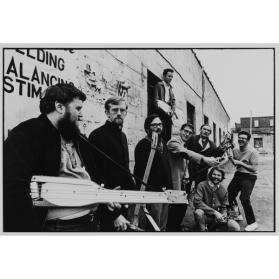 Hugh McIntyre, Art Pratten, John Clement, Murray Favro, Archie Leitch, Bill Exley, Greg Curnoe, John Boyle, Nihilist Spasm Band, York Hotel, London, ON
