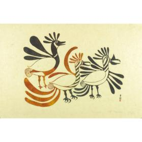 UNTITLED (THREE BIRDS)