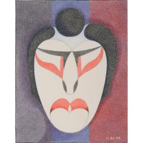 MALE/ FEMALE KABUKI MASKS