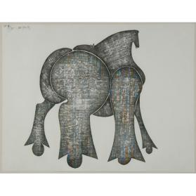 Untitled (Toy Horse)
